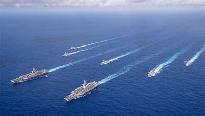 Mỹ tính biên chế hơn 530 chiến hạm