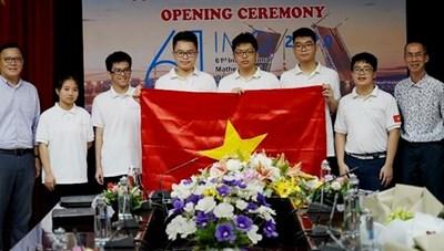 Việt Nam giành 2 huy chương vàng tại Olympic Toán học quốc tế