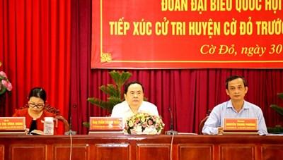 BẢN TIN MẶT TRẬN: Chủ tịch Trần Thanh Mẫn tiếp xúc cử tri Cần Thơ