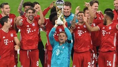 Giành Siêu cúp Đức, Bayern Munich đã hoàn tất 'cú ăn 5'