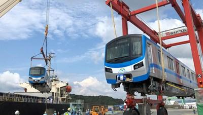 Trong tháng 10, các toa tàu đầu tiên của tuyến Metro số 1 sẽ về tới TP HCM