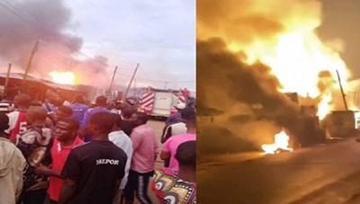 Nigeria: 5 người thiệt mạng trong vụ nổ xe chở khí đốt