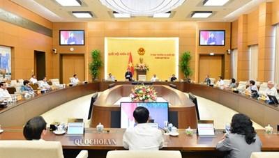 Ngày 12/10, khai mạc Phiên họp thứ 49 của Ủy ban Thường vụ Quốc hội