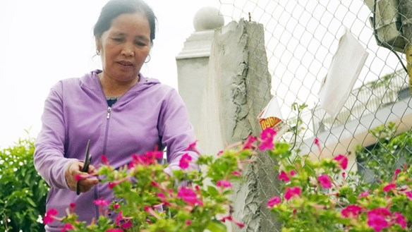 Người phụ nữ Mường hiến hơn 1.000 m2 đất để mở đường, xây trường học nông thôn
