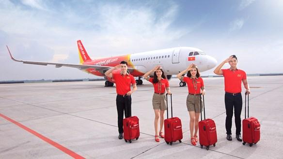 Vietjet miễn phí hành lý ký gửi trên tất cả các chặng bay nội địa