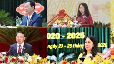 12 Bí thư Tỉnh ủy, Thành ủy đầu tiên trúng cử tại Đại hội