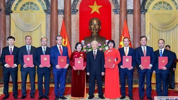 9 tân Đại sứ Việt Nam tại nước ngoài vừa được bổ nhiệm là ai?