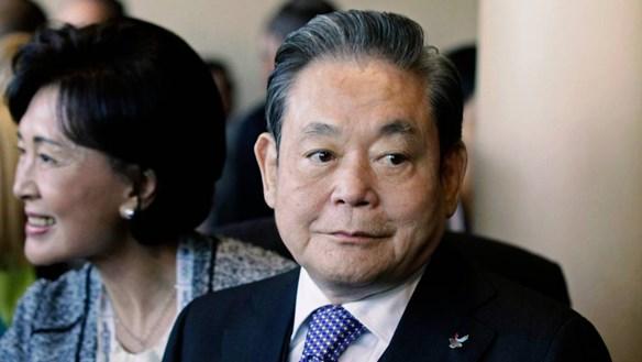 Chủ tịch Samsung qua đời sau nhiều năm chống chọi bệnh tật