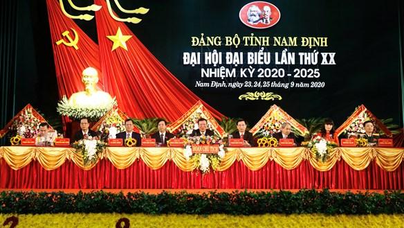 Nhân sự chủ chốt của tỉnh Nam Định khóa mới có gì mới?