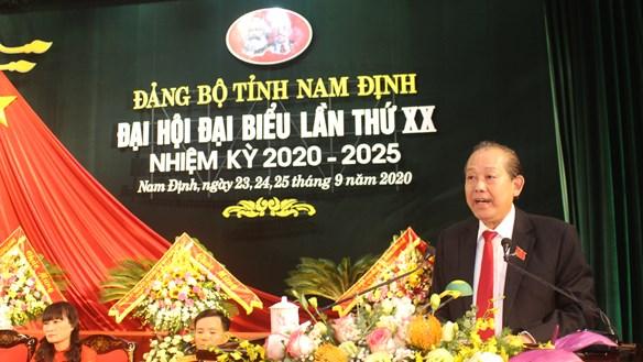 Hoan nghênh tinh thần tự phê bình và phê bình của Đảng bộ Nam Định