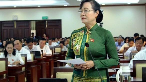 Bà Nguyễn Thị Quyết Tâm đề nghị HĐND giám sát để 'trả lời cho người dân Thủ Thiêm'