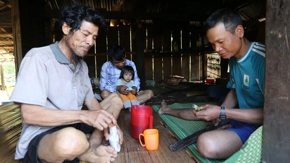 Nếp sống văn hóa đẹp ở làng Boa
