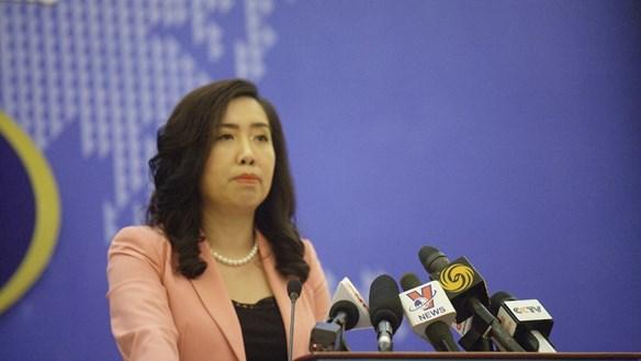 Trao công hàm phản đối Trung Quốc tập trận tại Hoàng Sa