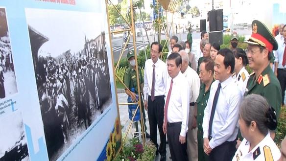 TP HCM triển lãm hơn 200 ảnh kỷ niệm 75 năm Nam bộ kháng chiến