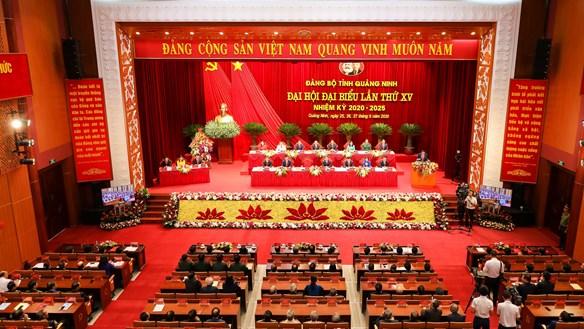 Khai mạc Đại hội Đảng bộ tỉnh Quảng Ninh lần thứ XV