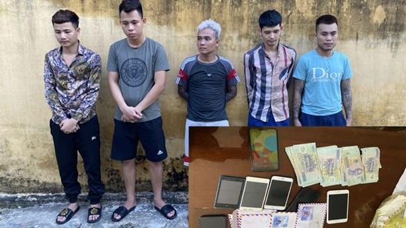 Thanh Hóa:Triệt phá đường dây đánh bạc qua mạng hơn 10 tỷ đồng
