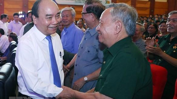 [ẢNH] Thủ tướng dự kỷ niệm 70 năm truyền thống thanh niên xung phong