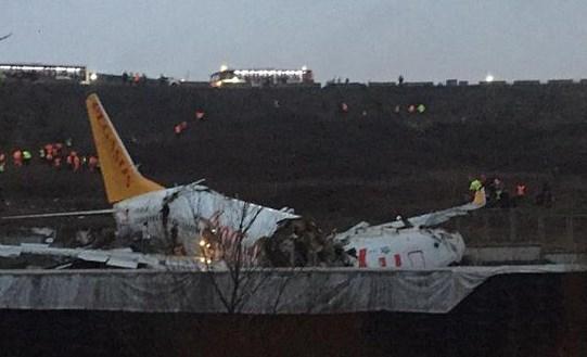Rơi máy bay trinh sát Thổ Nhĩ Kỳ, 7 nhân viên an ninh thiệt mạng