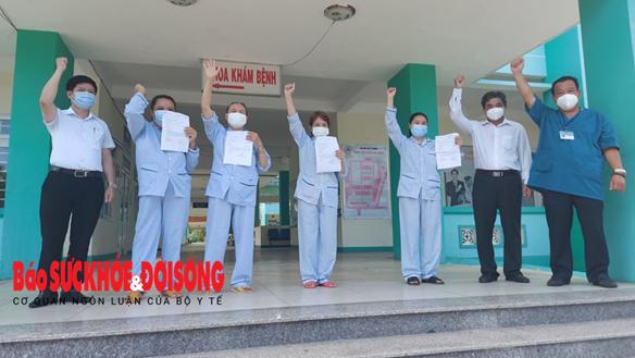 Bốn bệnh nhân đầu tiên của tâm dịch Đà Nẵng được xuất viện