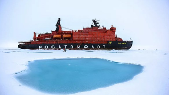 [ẢNH] Nga và Trung Quốc hợp tác ở 'nơi tận cùng Trái đất'