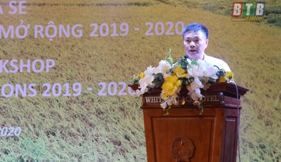 Thái Bình: Áp dụng công nghệ trong trồng lúa