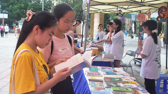 Nuôi dưỡng đam mê đọc sách trong giới trẻ