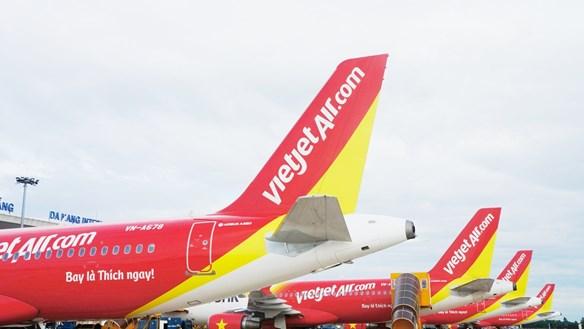 Ảnh hưởng của bão số 2, Vietjet điều chỉnh lịch khai thác các chuyến bay