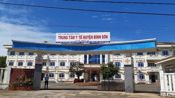 Quảng Ngãi: Kích hoạt bệnh viện dã chiến