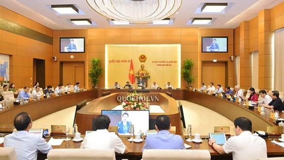 Phiên họp thứ 47 Ủy ban Thường vụ Quốc hội
