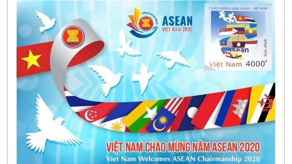 Phát hành tem chào mừng Năm ASEAN 2020