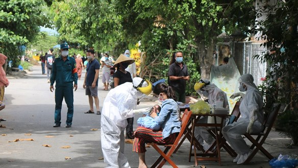 Quảng Nam: Hai ca mắc Covid-19 từng đến một số bệnh viện