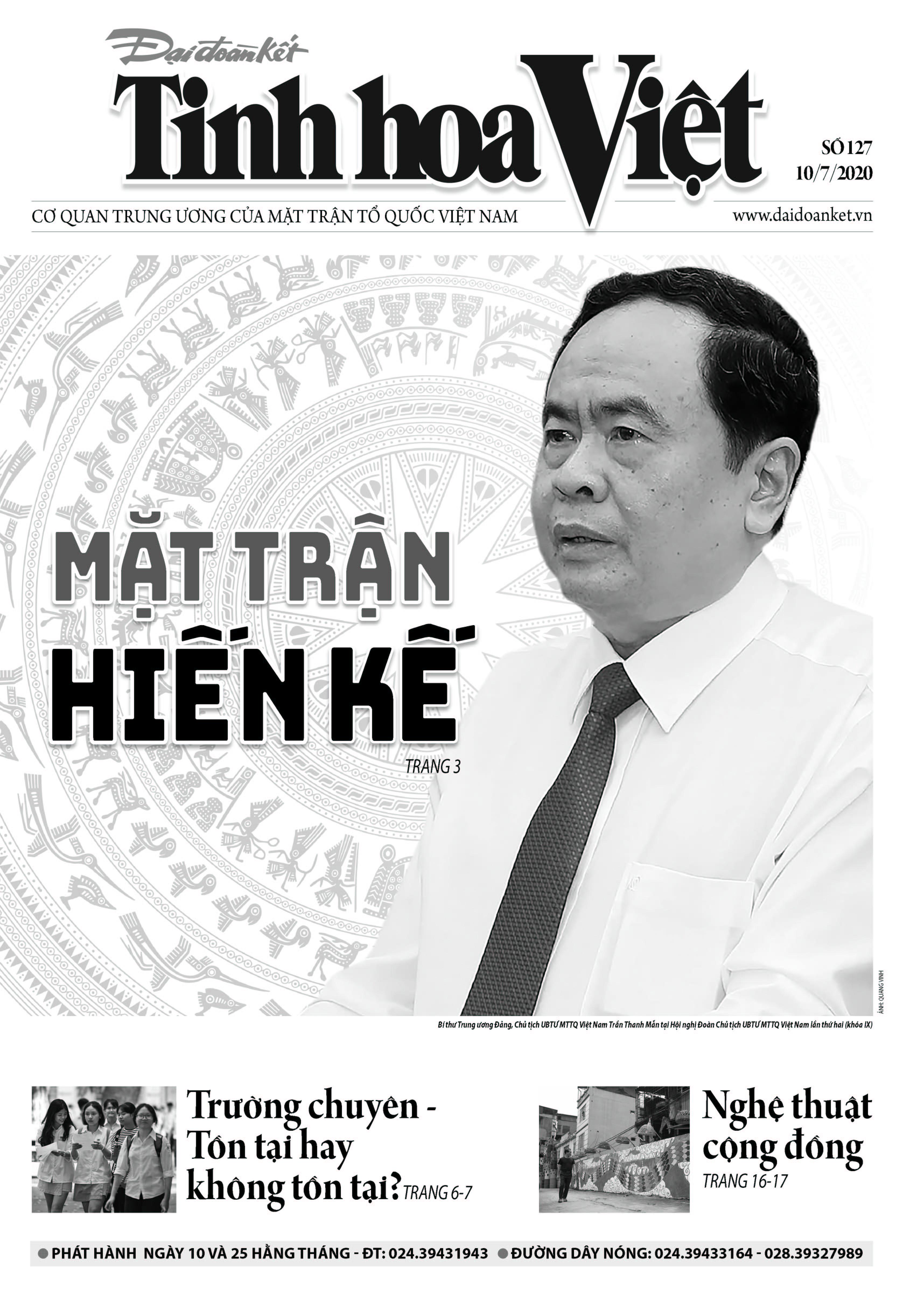 Trang bìa Tinh hoa Việt số 127