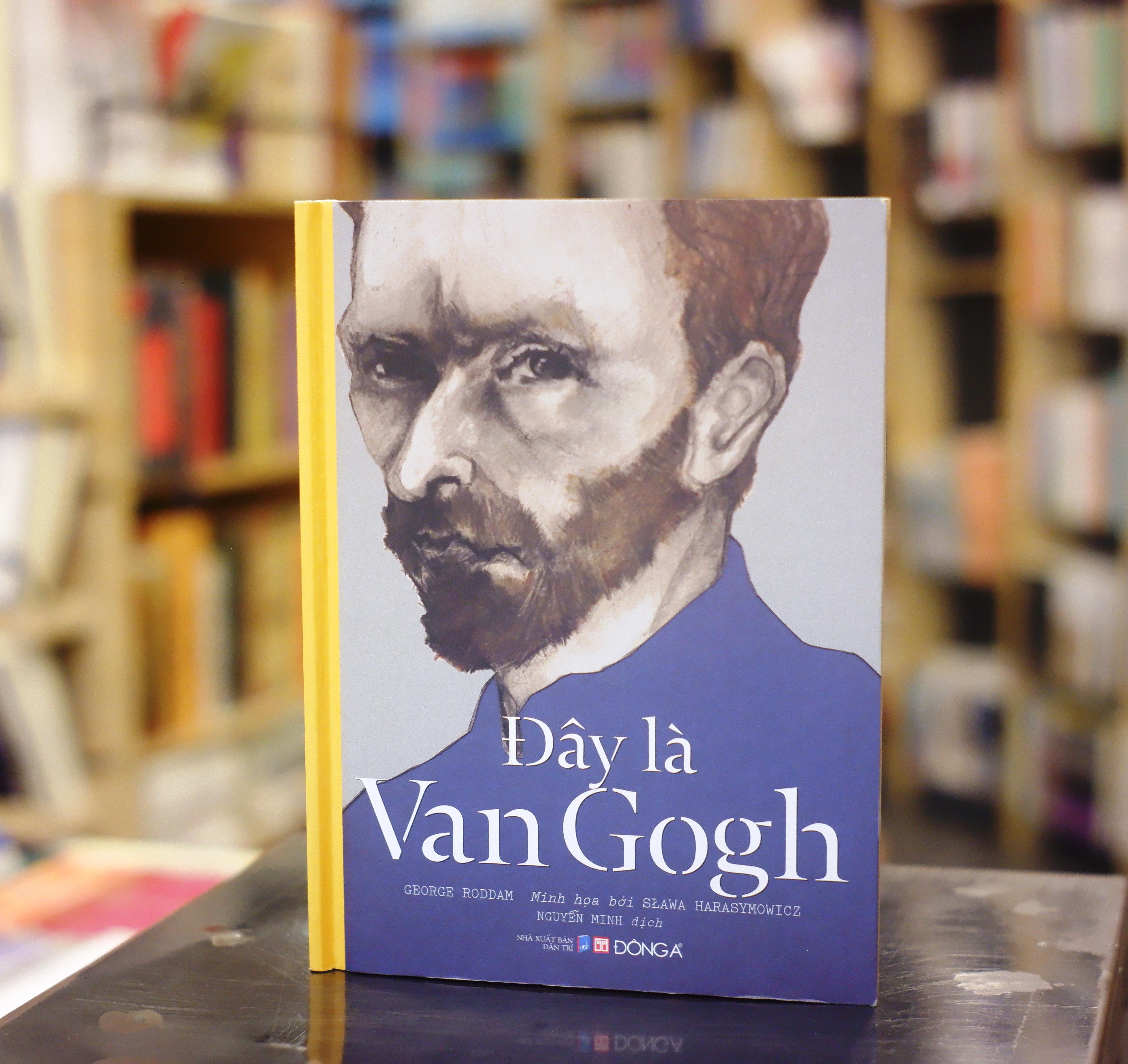 """Cuốn sách """"Đây là Van Gogh""""."""