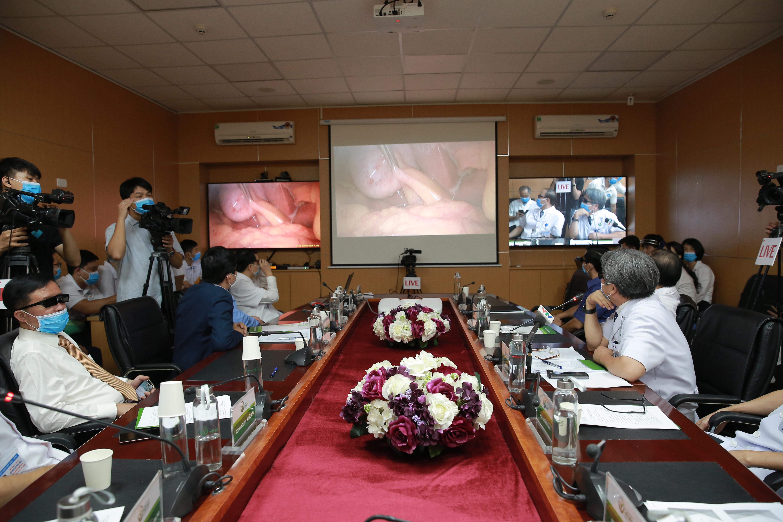 Khám chữa bệnh từ xa tại BV Hữu nghị Việt Đức.