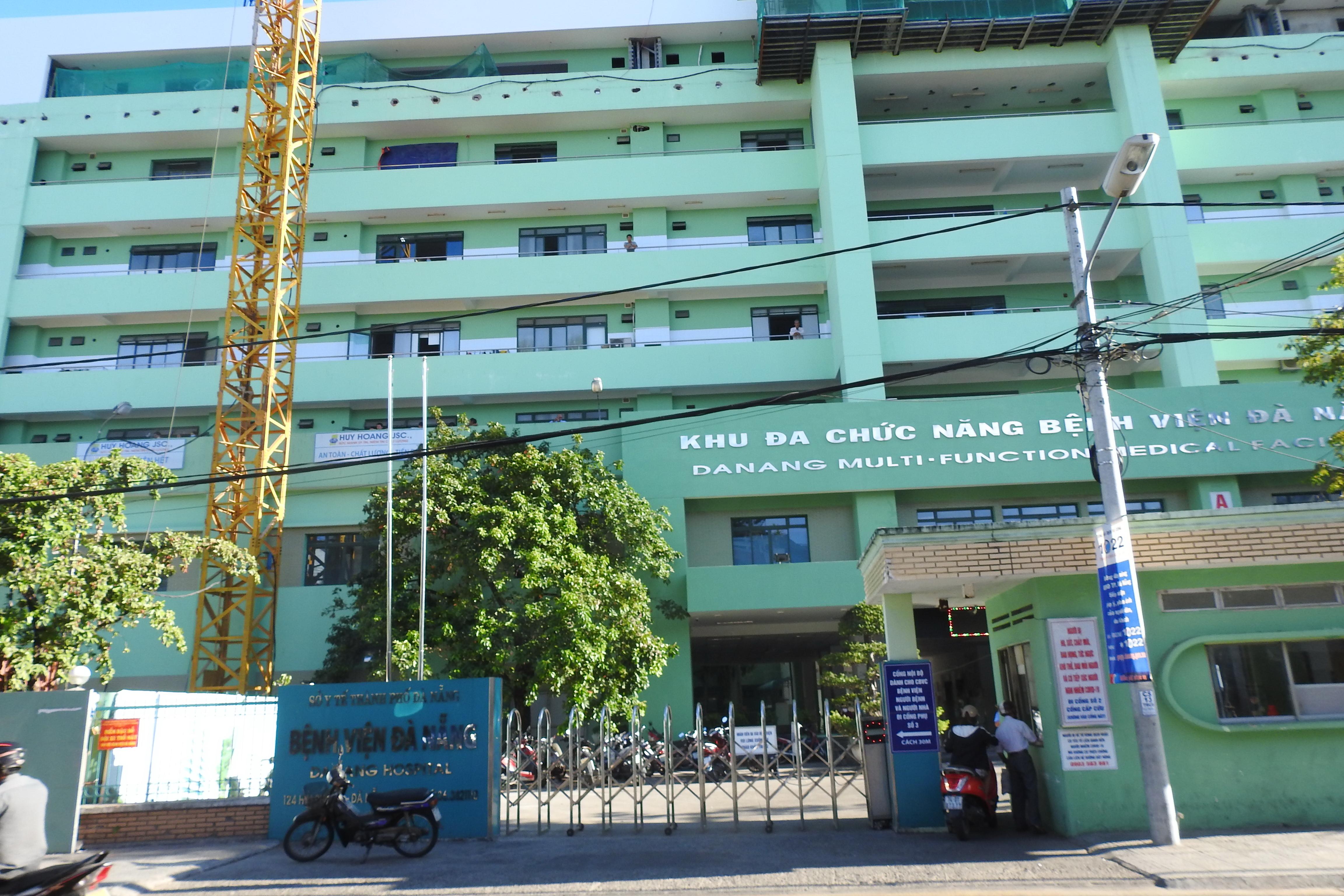 Bệnh viện Đà Nẵng đã hoàn tất tiêu độc khử trùng sẵn sàng trở lại điều trị Ảnh Thanh Tùng