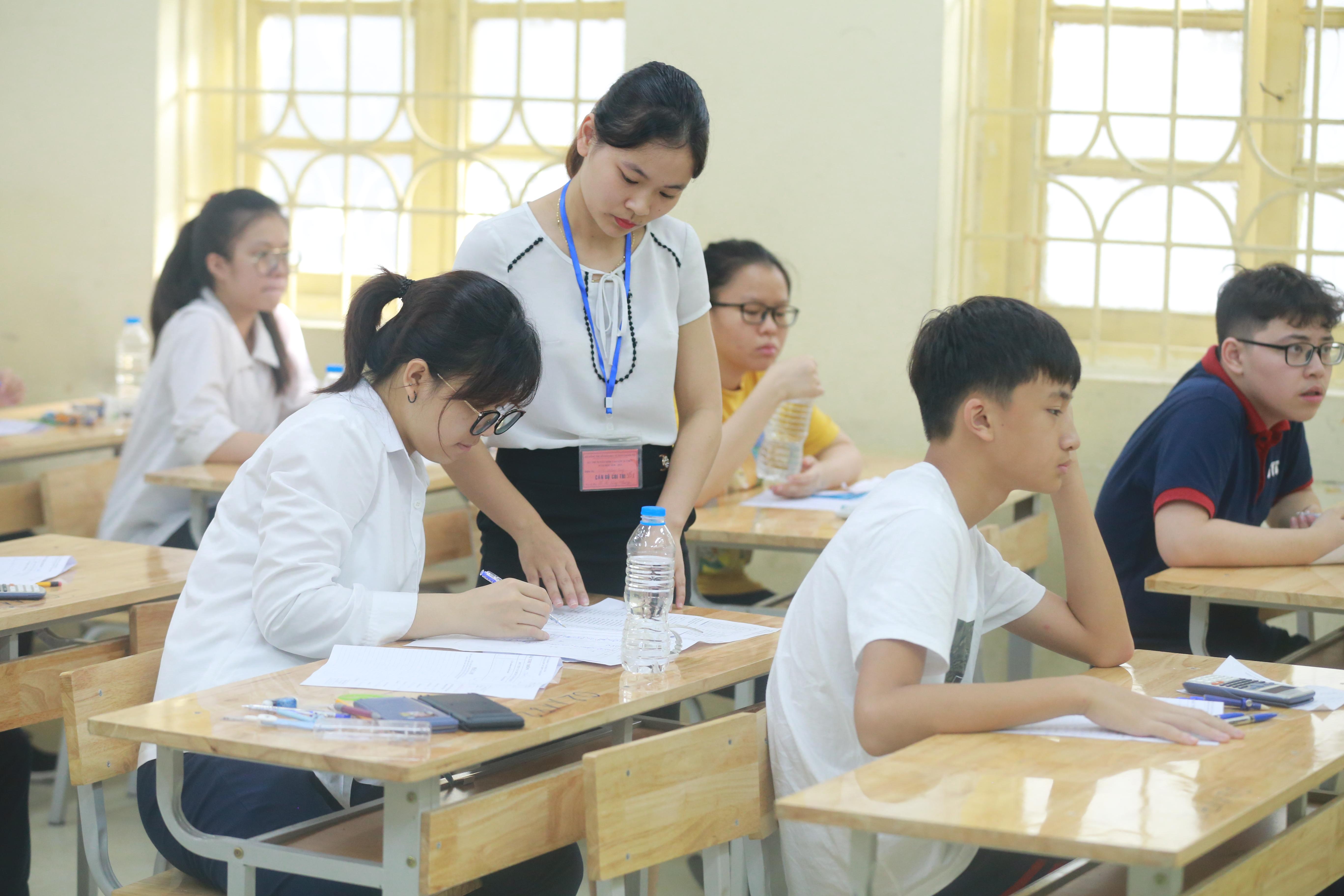 Thí sinh dự tuyển lớp 10 THPT chuyên tại Hà Nội năm học 2020- 2021.