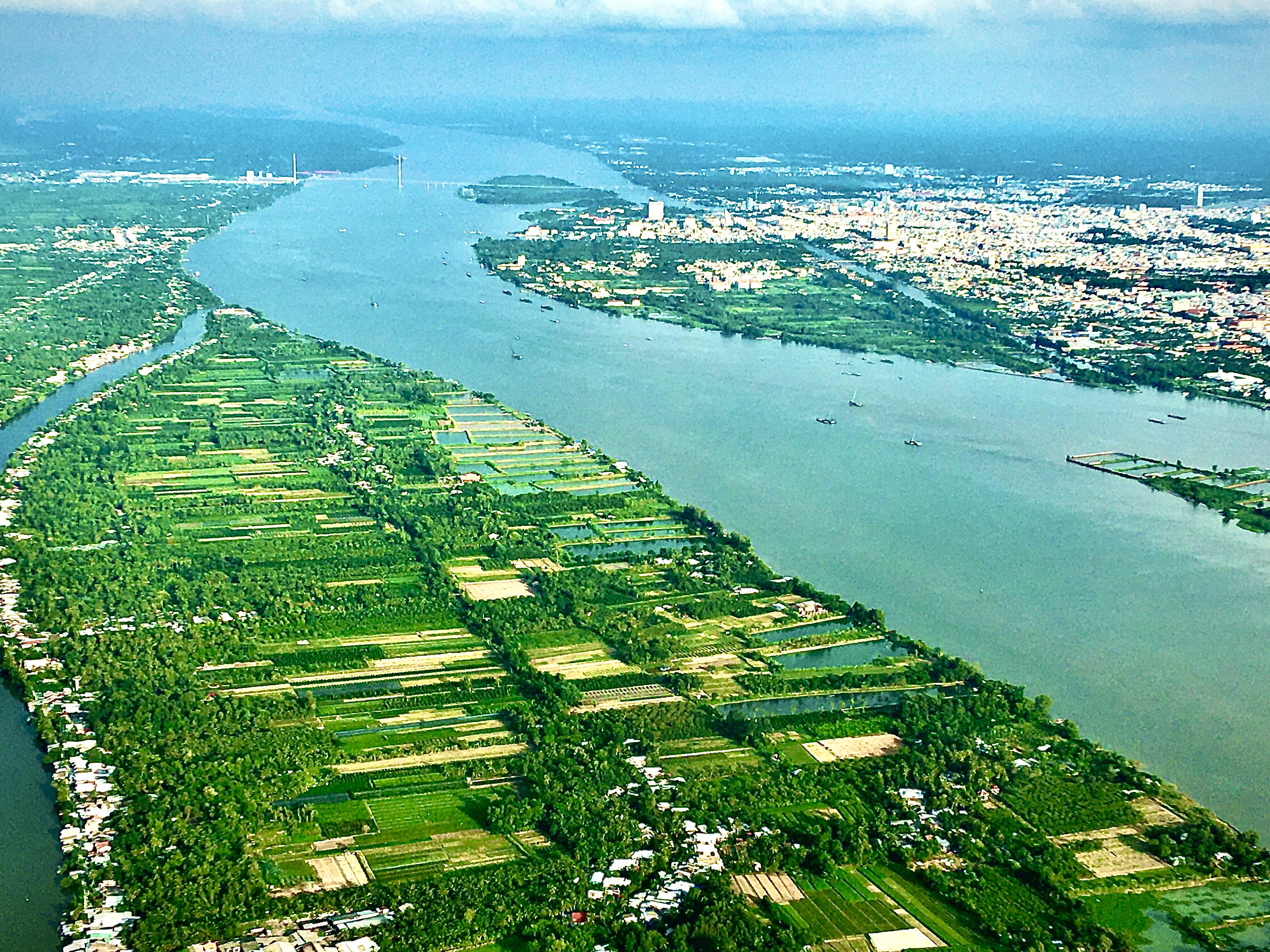 [ẢNH] Đồng bằng sông Cửu Long nhìn từ trên cao  - Ảnh 3