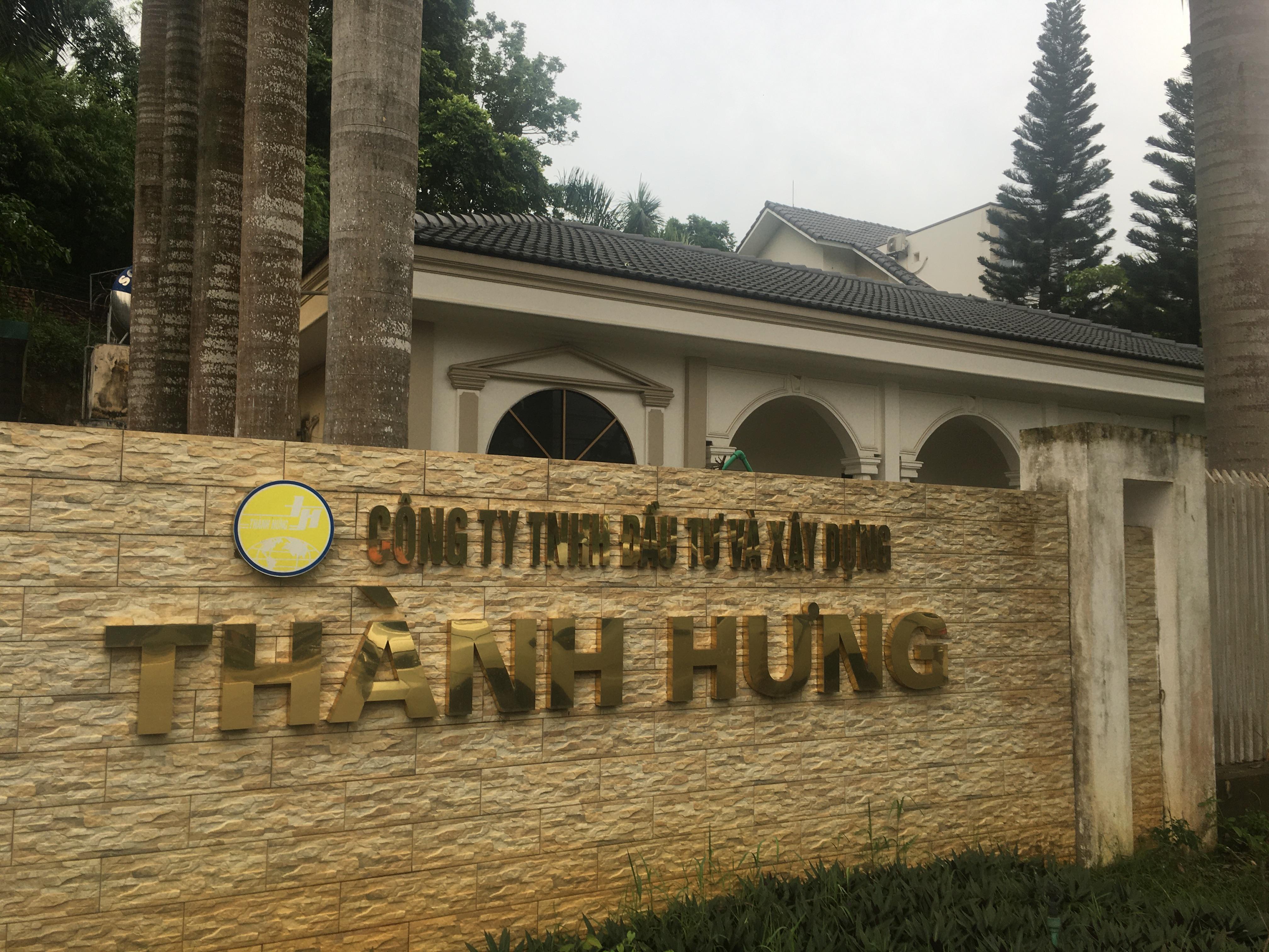 Trụ sở Công ty TNHH Đầu tư và Xây dựng Thành Hưng.