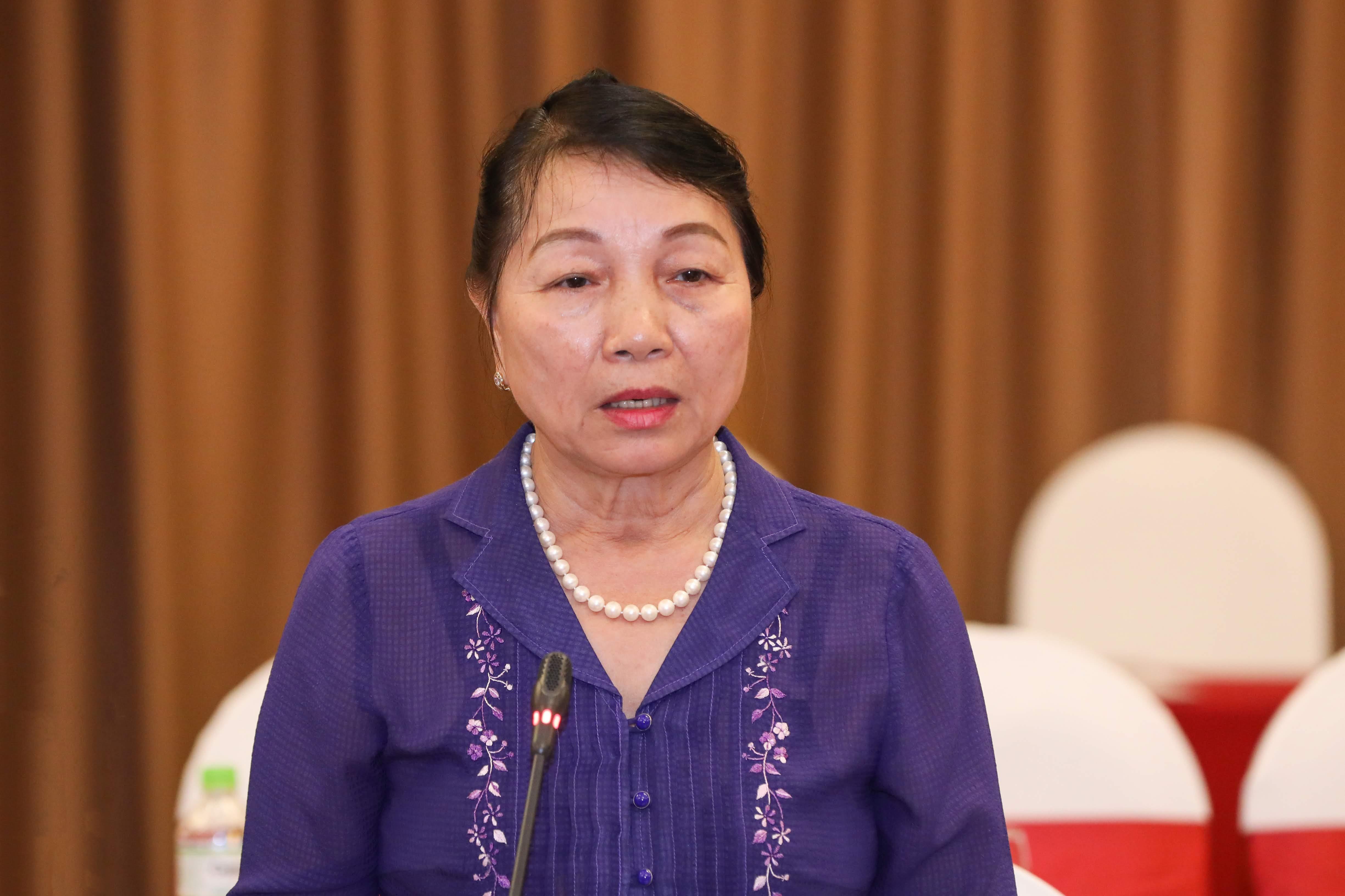 Bà Hà Thị Liên. Ảnh: Quang Vinh.