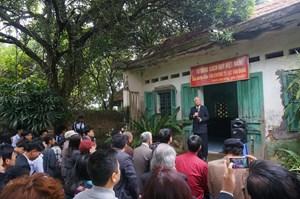 Nhà báo, nhà văn Thạch Lam với hai căn nhà kỷ niệm
