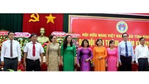 Chủ tịch Mặt trận được bầu làm Chủ tịch Hội Hữu nghị Việt - Lào tỉnh Bình Định