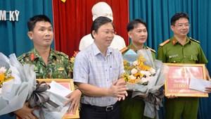 Quảng Nam: Công an TP Tam Kỳ liên tiếp phá những vụ án lớn