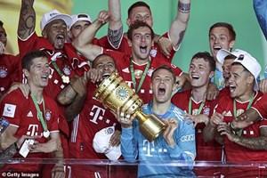 Khoảnh khắc đáng nhớ trong 20 lần vô địch DFB Cup của Bayern Munich