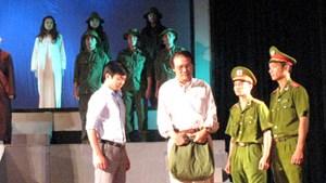Tái hiện hình tượng người chiến sĩ CAND trên sân khấu