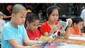 TP Hồ Chí Minh: Nhiều hoạt động tại Hội sách thiếu nhi