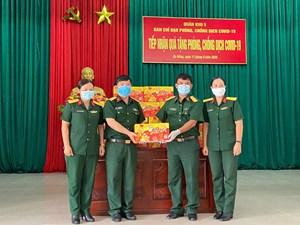 72.000 sản phẩm Trà Thanh Nhiệt Dr Thanh tiếp tục tiếp sức đồng bào, chiến sĩ