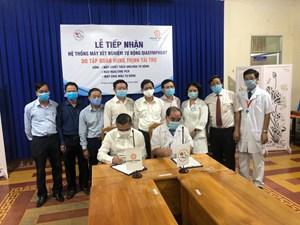 Bệnh viện Đa khoa Khánh Hòa tiếp nhận máy xét nghiệm tự động QIAsymphony
