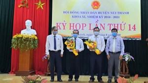 Quảng Nam: Giám đốc Sở GTVT giữ chức Chủ tịch huyện Núi Thành