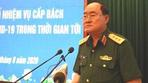 Thượng tướng Trần Đơn: Không để dịch Covid-19 lây lan trong Quân đội