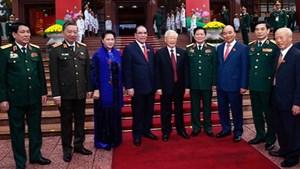 Khai mạc trọng thể Đại hội Đại biểu Đảng bộ Quân đội lần thứ XI
